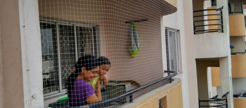 Children Safety Nets for Balcony in Bangalore